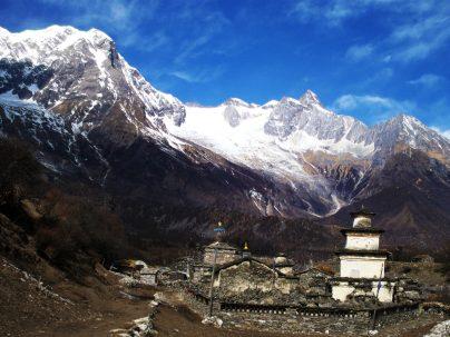 Ethnic Tamang village