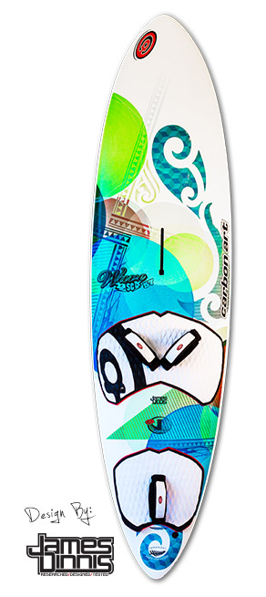photo of the wave sc waveboard