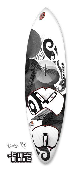 photo of wave dc windsurf board