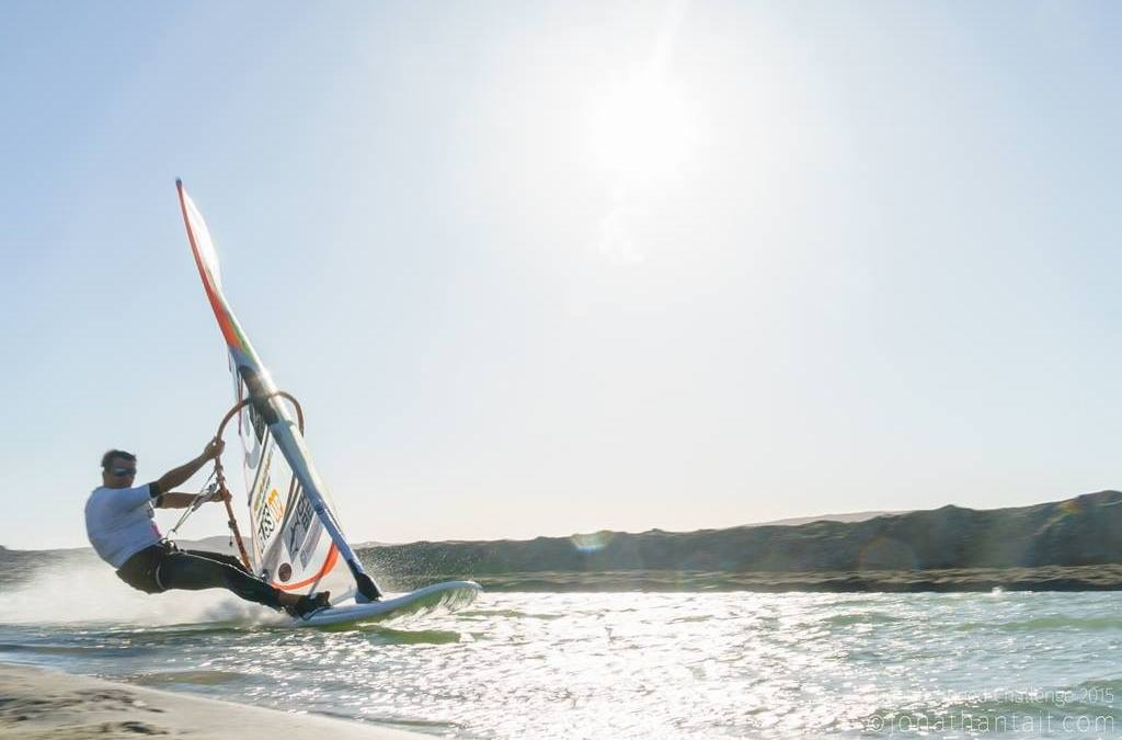 Flying Fonzy at Luderitz Speed Challenge 2015
