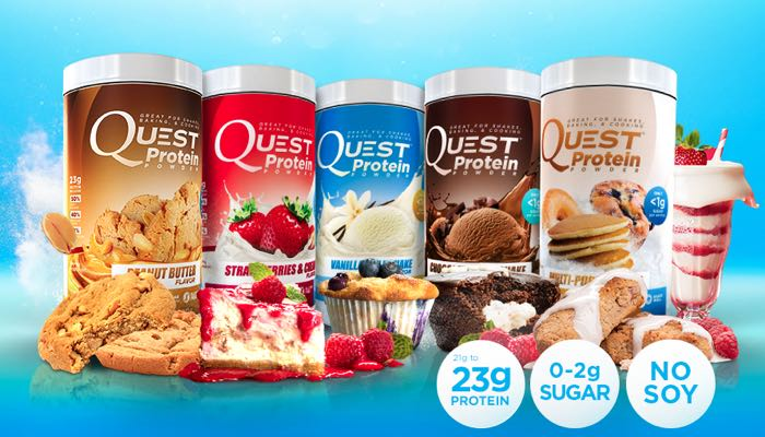 Quest Protein Powders