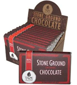 Taza Stone Ground Organic Chocolate 80% Dark