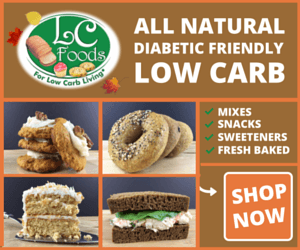LC-Foods All Natural Diabetic-Friendly Low Carb Foods