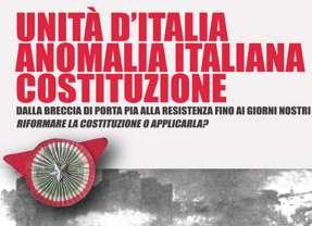 Unità d'Italia, anomalia italiana, Costituzione