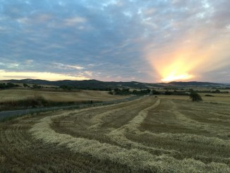 Dalton said one of her favorite parts of backpacking through Spain this summer was waking up to sunrises every day|photo submitted by Rebecca Dalton