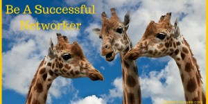 Be A Successful Networker