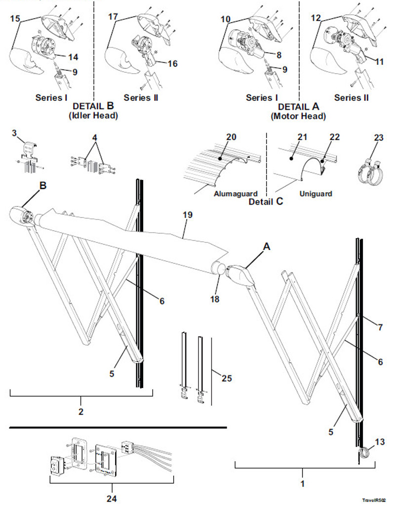 Astonishing Exploded Parts View Rh E Carefree Com Awning Parts Sunsetter Awningparts Rv Awning Arm Parts Diagram Information Wiring Diagram Sunsetter Awning Arm Parts Sunsetter Awning Parts List houzz-03 Sunsetter Awning Parts