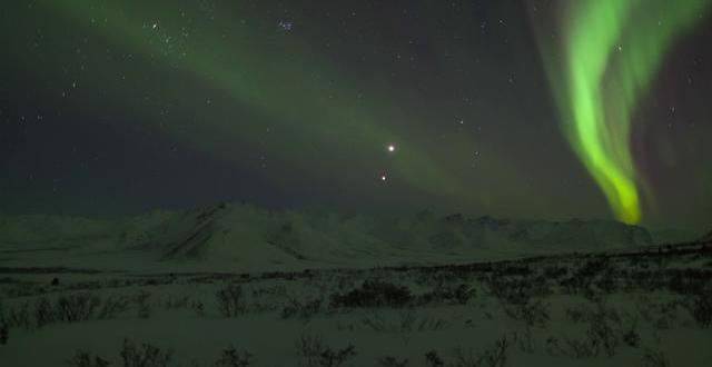 El baile de Venus y Júpiter filmado por Phil Hart