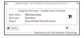 Cómo tener permisos de administrador en Windows con WinOwnership