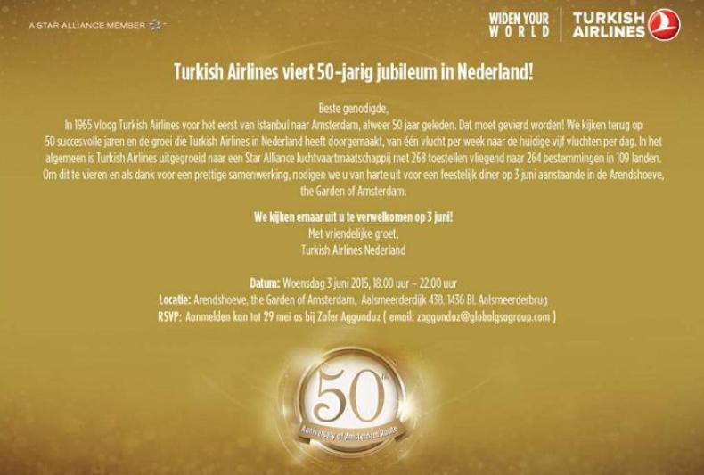 tk 50 year amsterdam