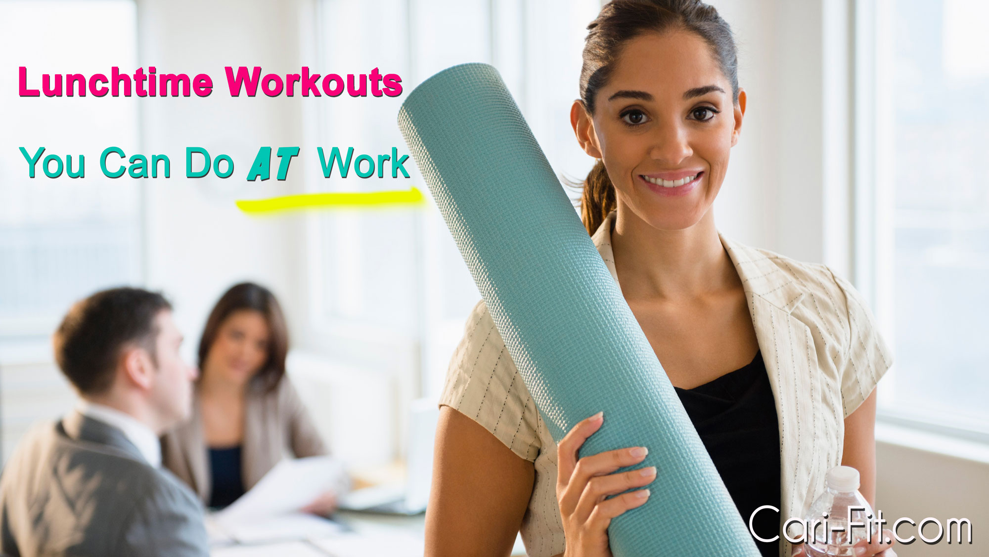 how to squeeze in a real workout at work hair makeup products for post workout