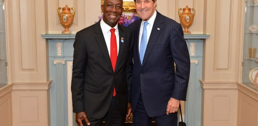 State secretary John Kerry Caribbean free trade