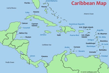 Map Of Southern Caribbean - Southern caribbean map