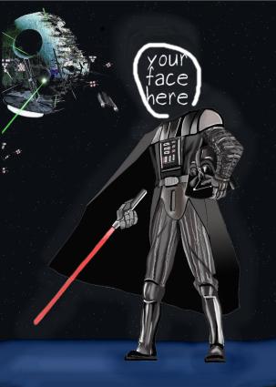 star wars caricature