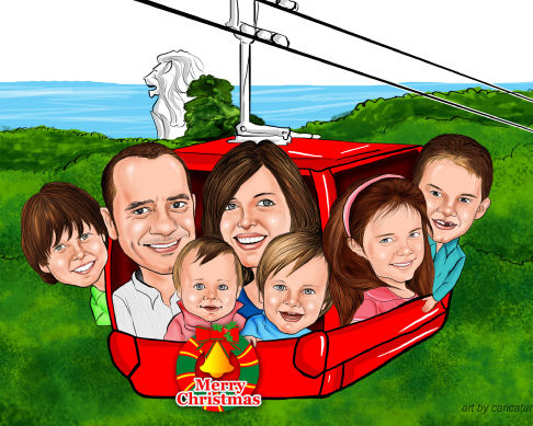 caricature gift work