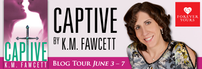 CAPTIVE K.M. Fawcett Blog Tour