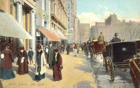 Union Square in 1908