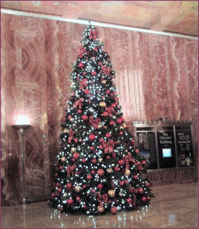 Chrysler Christmas Tree