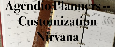 Agendio Planners – Customization Nirvana