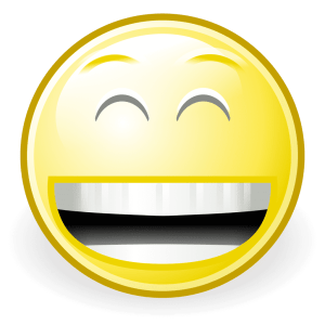 You'll look like this laugher-induced jaundiced guy after the show/ GNOME Icon Artists