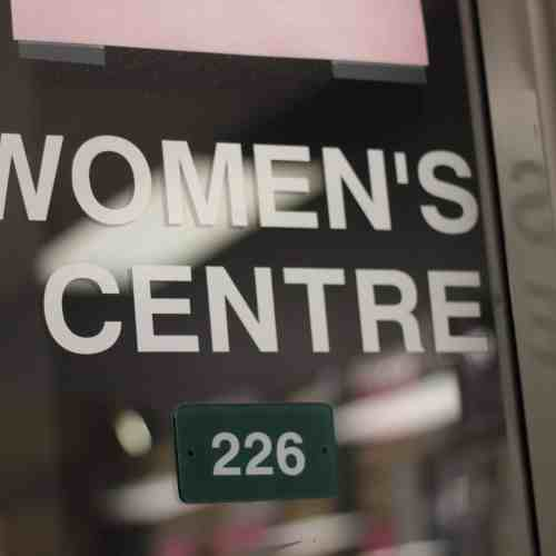 The women's centre has adopted the Yes means Yes to clarify when consent is given. / Haley Klassen
