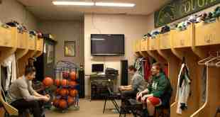 Happy, healthy locker room./ Brett Nielson