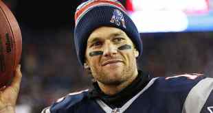 That smirk is what defeating the NFL looks like/ Greg M. Cooper, USA Today Sports