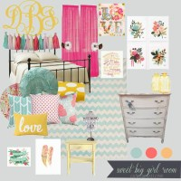 Sweet Big Girl Room