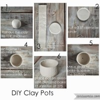 DIY Clay Pots Craft Night
