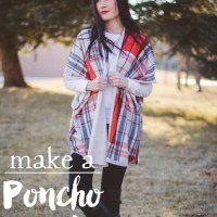 Fashion Friday: Poncho Sweater Love