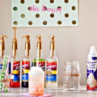 Host your own Italian Soda Bar