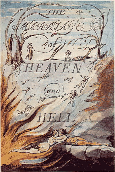 William Blake – Il matrimonio del Cielo e dell'Inferno, 1790 - 1793