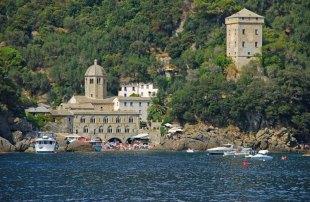 San Fruttuoso: Abadía y Torre Doria