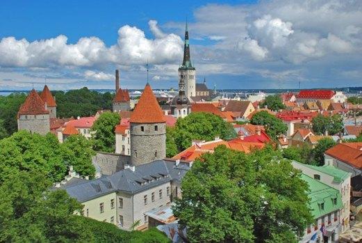 Vista de la Ciudad Vieja (Vannalinn)