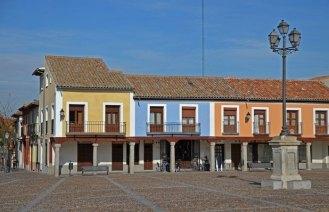 Casas de la Plaza de Segovia