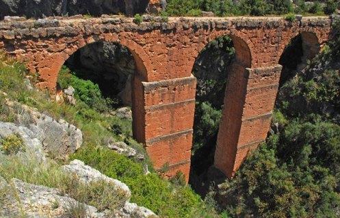 Acueducto Romano - Puente Siglo Id.C.