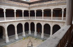Patio del Palacio de Avellaneda