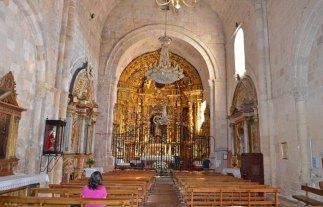 Interior de la Iglesia Virgen de la Peña