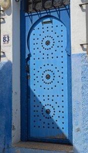 Kasbah de los Udayas. Puerta