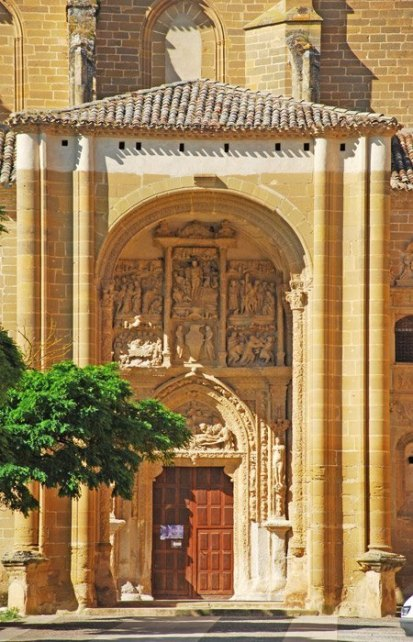 Portada del Monasterio de Casalarreina