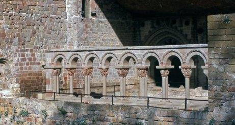 Monasterio de San Juan de la Peña. Claustro