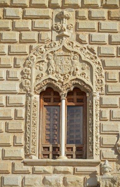 Ventanas geminadas de Palacio