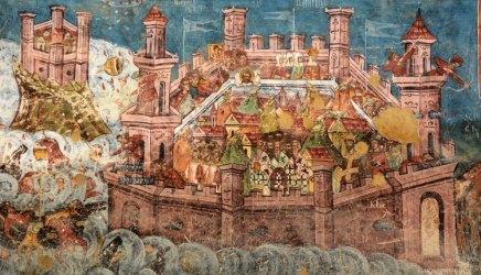 Monasterio Moldevita. Asedio de Constantinopla