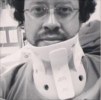 Yo y mi cuello ortopédico
