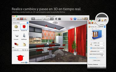 Live interior 3D Pro Edition. Disponible en Mac App Store.