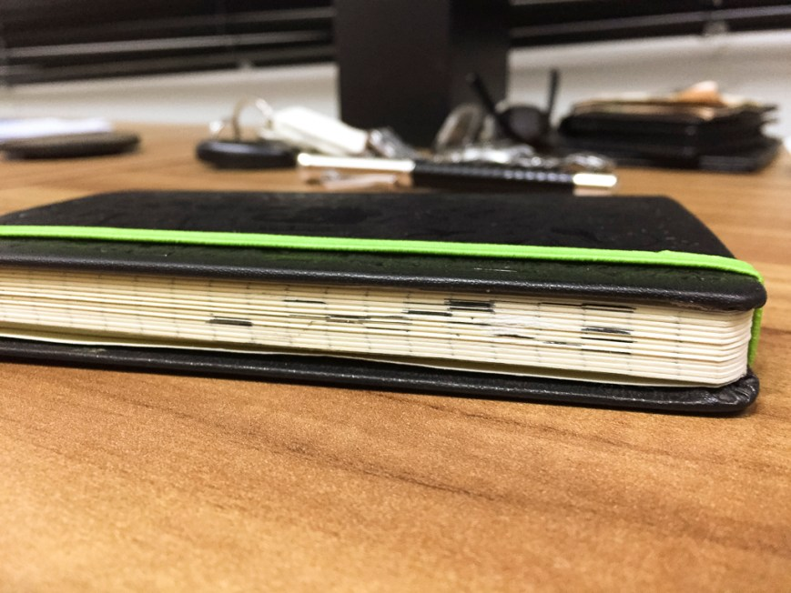 Indexed Moleskine