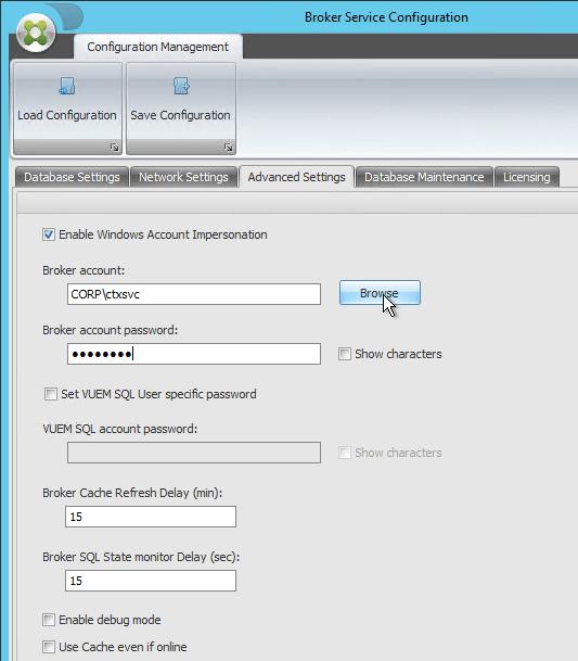 Xendesktop restart broker service