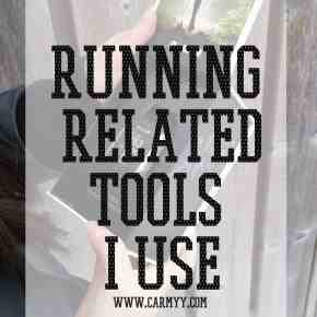 Running Related Tools I Use