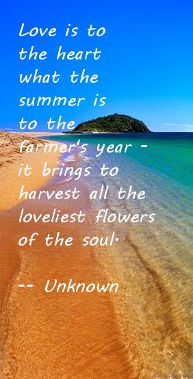Summer Beach Quote - Ocean Quote