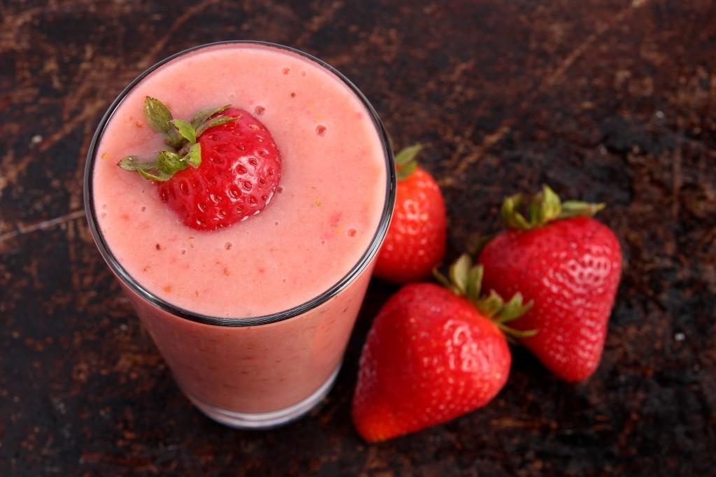 Strawberry Protein Smoothie Recipe